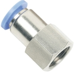 UNITEK 1/4 Inch Straight Connector With Female Thread 6 Mm 06-02(1/4)