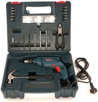 Bosch GSB 450 RE 450 W Power Input 79 Pcs Impact Drill Smart Kit