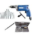 Bizinto Drill Machine Toolkit With 41 Pcs Screwdriver & Socket Set