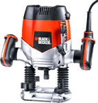 Black & Decker KW900EKA 8000-28000 RPM 1200 W Plunge Type Router