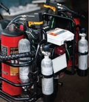 Ceasefire Bike Mounted Water Mist Fire Extinguisher 9 Litre