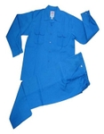 Galaxy Enterprise Royal Blue Color Polyester Cotton Shirt And Trouser WM 008