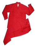 Galaxy Enterprise Red Color Polyester Viscose Shirt And Trouser WM 008