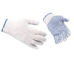 Siddhivinayak Dotted Hand Gloves 10 Inch Pack Of 12 Pair
