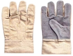 Safewell Leather Canvas Gloves Pack Of 12 Pair LG 806