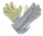 Udyogi Leather Gloves 14 Inch Pack Of 1 Pair TK1C14