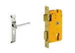 Dorset Lock Set With Lock Body And Without Cylinder Stainless Steel ML ART