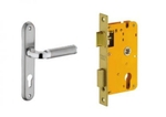 Dorset Lock Set With Lock Body And Without Cylinder Stainless Steel ML IP