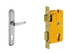 Dorset Lock Set With Lock Body And Without Cylinder Stainless Steel ML OS
