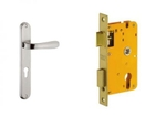 Dorset Lock Set With Lock Body And Without Cylinder Stainless Steel ML PU