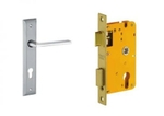 Dorset Lock Set With Lock Body And Without Cylinder Stainless Steel ML TW