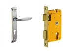 Dorset Lock Set With Lock Body And Without Cylinder Stainless Steel ML ZA