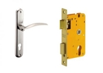 Dorset Lock Set With Lock Body And Without Cylinder Stainless Steel ML CEL