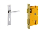 Dorset Lock Set With Lock Body And Without Cylinder Stainless Steel ML PIE