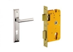 Dorset Lock Set With Lock Body And Without Cylinder Stainless Steel ML CAR
