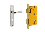 Dorset Lock Set With Lock Body And Without Cylinder Stainless Steel ML LY