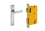 Dorset Lock Set With Lock Body And Without Cylinder Stainless Steel ML QU