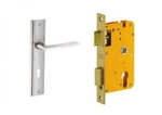 Dorset Lock Set With Lock Body And Without Cylinder Stainless Steel ML CO