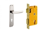 Dorset Lock Set With Lock Body And Without Cylinder Stainless Steel ML AMY
