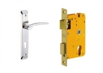Dorset Lock Set With Lock Body And Without Cylinder Stainless Steel ML LET