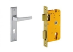 Dorset Lock Set With Lock Body And Without Cylinder Stainless Steel ML AI