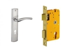 Dorset Lock Set With Lock Body And Without Cylinder Stainless Steel ML ON
