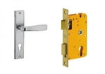 Dorset Lock Set With Lock Body And Without Cylinder Stainless Steel ML ST