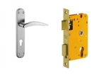 Dorset Lock Set With Lock Body And Without Cylinder Stainless Steel ML HA