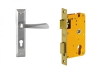 Dorset Lock Set With Lock Body And Without Cylinder Stainless Steel ML NO