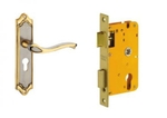 Dorset Venizia Lock Set With Lock Body And Without Cylinder Stainless Steel HL VN