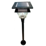 King Sun Solar Garden Light 4 Ah 12V Model No KSGL1