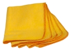 Standard Make Duster Cloth (Yellow) 20 X 20'' Cm (Pack Of 12 Pcs.)