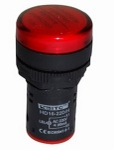 Vaishno Led Colour Indicator Lamp - Red, 220V Ac For Panel ( Pack Of 10 Pcs )