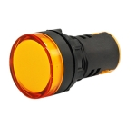 Vaishno Led Colour Indicator Lamp - Yellow 220V Ac For Panel ( Pack Of 10 Pcs )