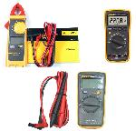 Clamp Meter & Digital Multimeter Combo Kit Fluke 115 + Fluke 362 + Fluke 17B+