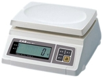 CAS Table Top Scale With Pole Capacity 15 Kg LC 0.5 G PR-U