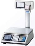 CAS CT-100 Pole Measuring Capacity 15 Kg Ticket/Bill Printing Scale