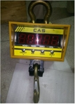 CAS THZ-15Z Measuring Capacity 15000 Kg Economical Version Crane Scale - Hook