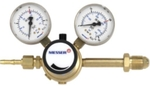 Messer MS77052018 Gas Type: Argon, Tornado Heavy Duty Pressure Regulator With Outlet Flow Gauge